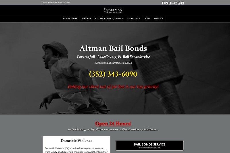 Altman Bail Bonds, Inc. - Tavares, FL