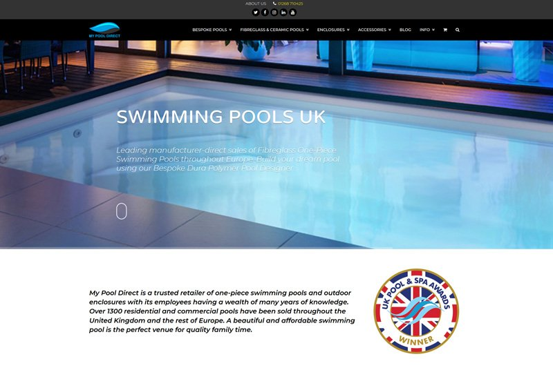 My Pool Direct - United Kingdom Swqimming Pool Sales