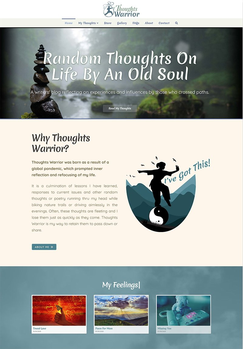 Thoughts Warrior - Blog & Store