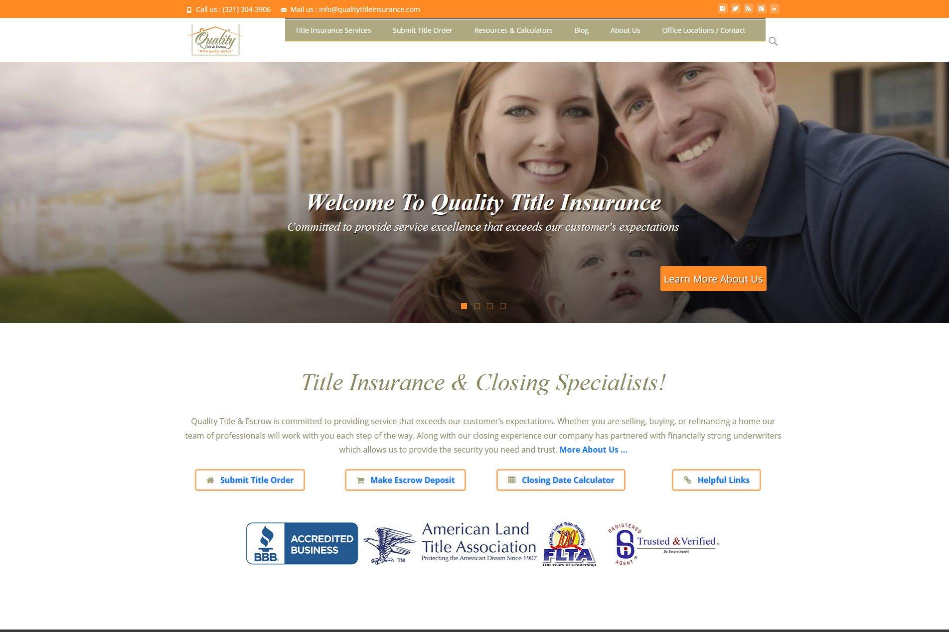 Quality Title Insurance - Winter Park, FL
